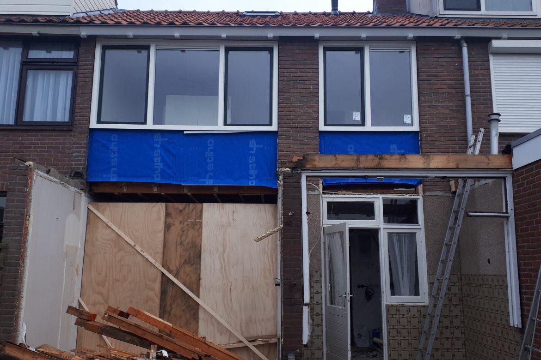 Dak vervanging IJsselmuiden
